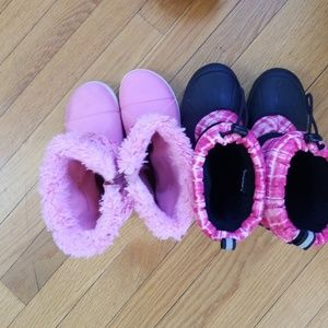 Other - 2 pair of winter boots size 2